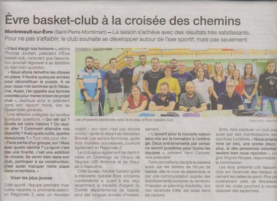 Article ouest france 28 06 19